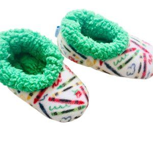 Snoozies Scribble Pencil Slippers